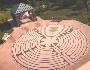 Labyrinth Garden Design On Labyrinth By Labyrinth Enterprises Installed At  West Clinic In Memphis